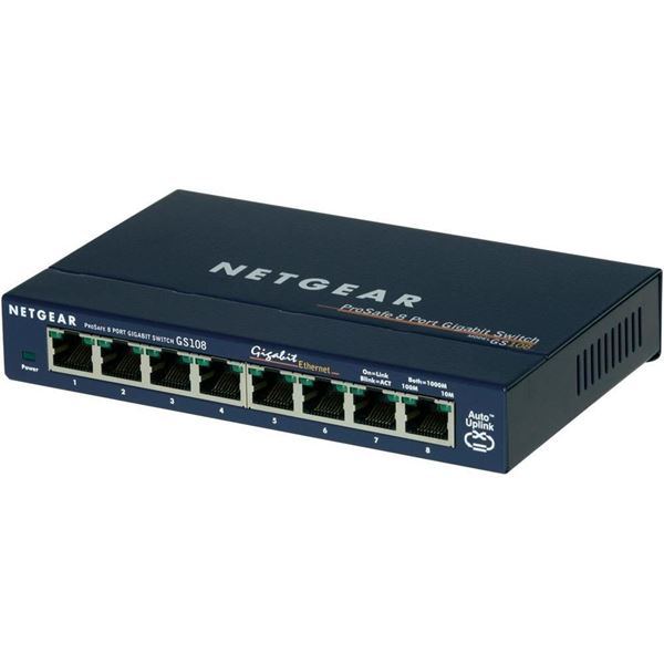 NetGear GS108GE Switch