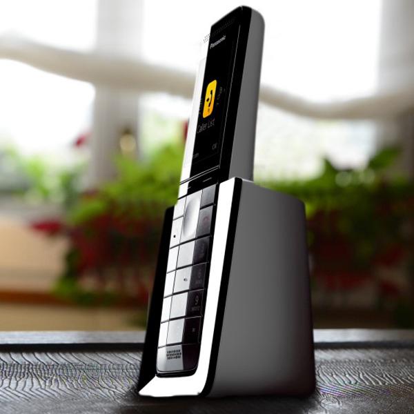Panasonic-Ασύρματο-Τηλέφωνο-KX-PRS110-Diamond-Λευκό3