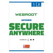 Webroot SecureAnywhere Antivirus 3 DEV/ 1 YEAR