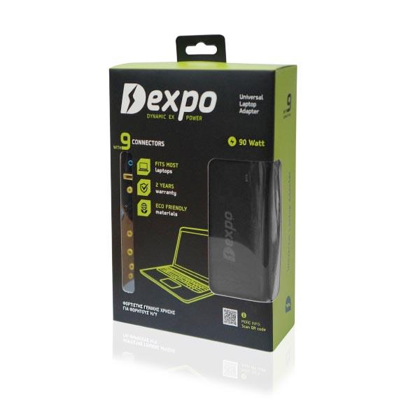 Τροφοδοτικό Dexpo EXPOWER 90W UNIVERSAL