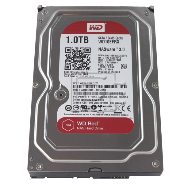 Western Digital Red NAS WD10EFRX 1 TB