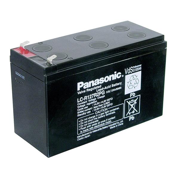 Μπαταρία μολύβδου Panasonic LC-R127R2PG 12 v – 7,2 ah