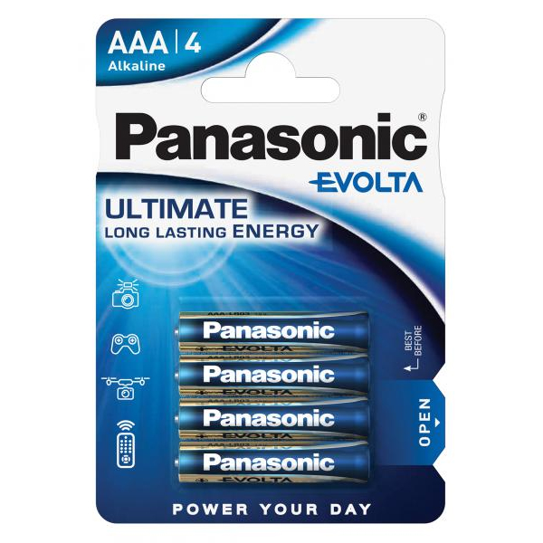 Panasonic evolta aaa
